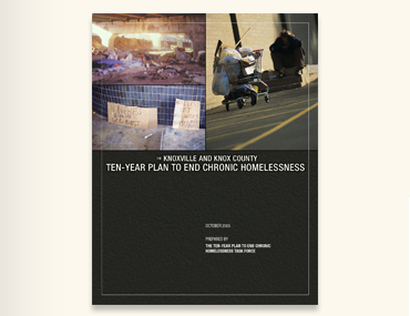 cover of Ten Year Plan document